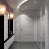 маленький коридор прихожая