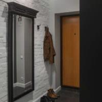 маленький коридор прихожая интерьер