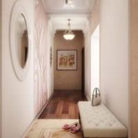 маленький коридор прихожая интерьер фото