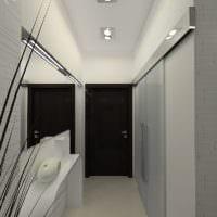 маленький коридор прихожая практичный дизайн