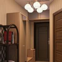 маленький коридор прихожая современный дизайн