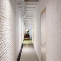 маленький коридор прихожая в хрущевке дизайн фото