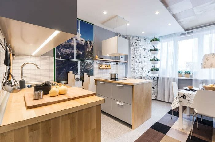 обустройство кухни 12-14 кв м