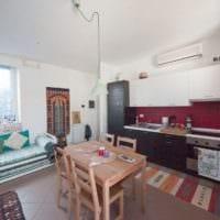 однокомнатная квартира 30 кв м уютный дизайн