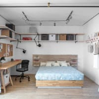 однокомнатная квартира 42 кв м современный дизайн