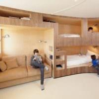 однокомнатная квартира для семьи с ребенком дизайн идеи