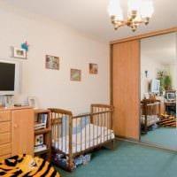 однокомнатная квартира для семьи с ребенком фото дизайн