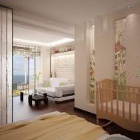 однокомнатная квартира для семьи с ребенком фото дизайна