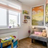 однокомнатная квартира для семьи с ребенком идеи