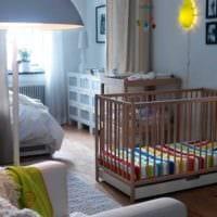 однокомнатная квартира для семьи с ребенком идеи фото