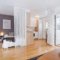 однокомнатная квартира для семьи с ребенком идеи интерьер