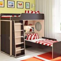однокомнатная квартира для семьи с ребенком планировка фото