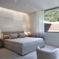 оформление потолка в спальне фото дизайн