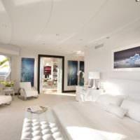 оформление потолка в спальне идеи дизайн