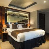 оформление потолка в спальне идеи фото