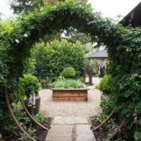 огород с грядками дача дизайн идеи