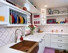 плитка на кухне декор идеи