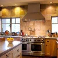 плитка на кухне фото декора