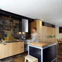 плитка на кухне идеи дизайна