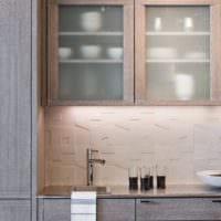плитка на кухне интерьер фото