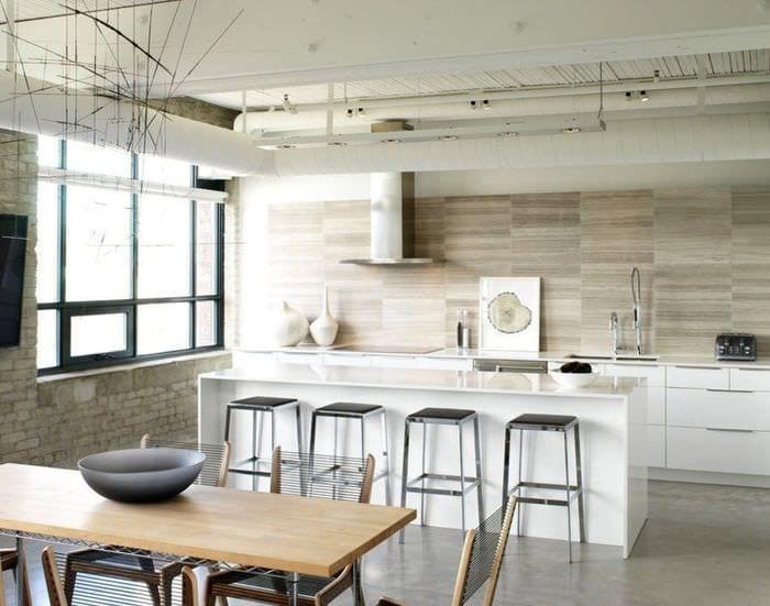 плитка на кухне минимализм