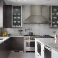 плитка на кухне современный дизайн