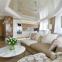 потолок в гостиной декор идеи
