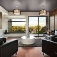 потолок в гостиной фото дизайн
