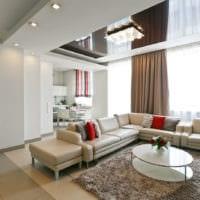 потолок в гостиной идеи декор
