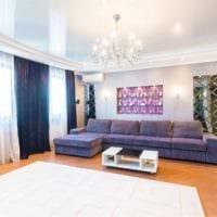 потолок в гостиной варианты дизайна