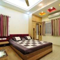 потолок в спальне дизайн идеи