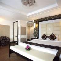 потолок в спальне фото дизайн