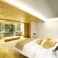 потолок в спальне фото дизайна