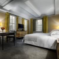 потолок в спальне фото идеи