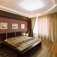 потолок в спальне идеи декора