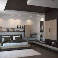 потолок в спальне идеи дизайн