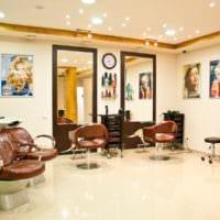 салон красоты парикмахерская дизайн декор