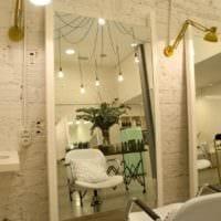 салон красоты парикмахерская дизайн интерьера