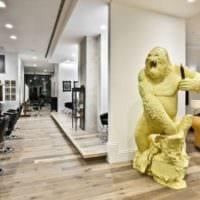 салон красоты парикмахерская идеи интерьер