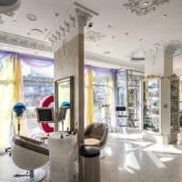 салон красоты парикмахерская интерьер зала