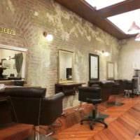 салон красоты парикмахерская современный дизайн