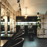 салон красоты парикмахерская стильный дизайн