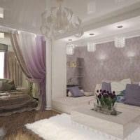 спальня гостиная с нишей
