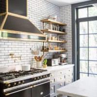 варианты дизайна кухни 6 кв м