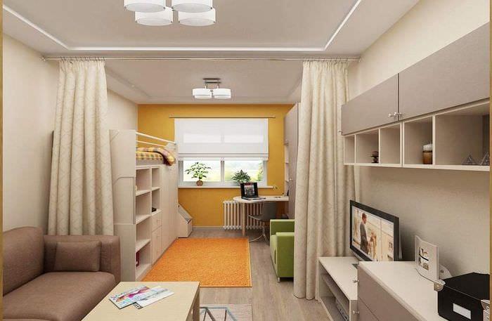 зонирование квартиры для семьи с малышом