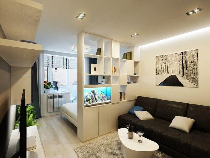 фото спальни гостиной