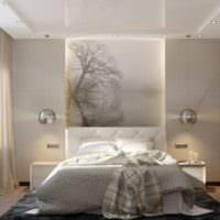 спальня 10 кв м декор фото
