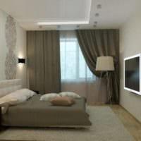 спальня 10 кв м декор идеи