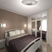 спальня 10 кв м стильный дизайн