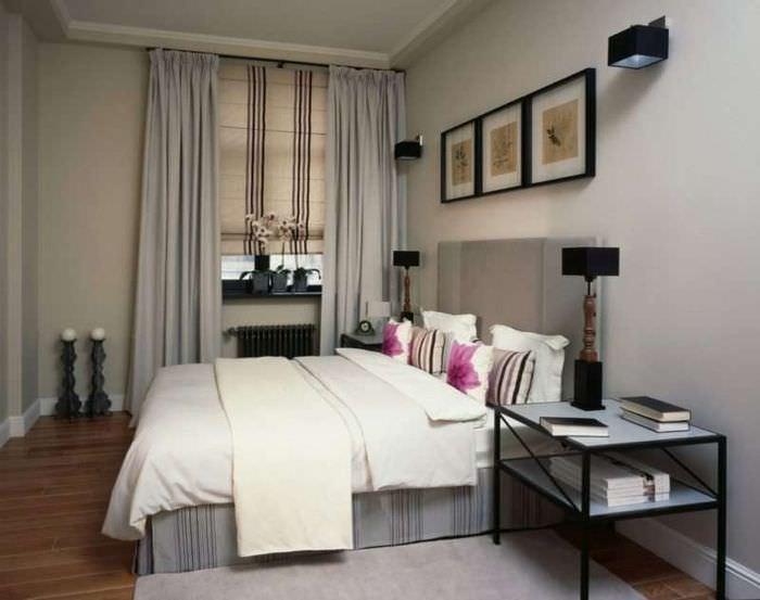 фото дизайна спальни в хрущевке